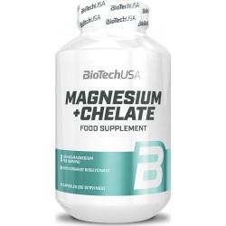 Biotech USA Magnesium + Chelate 250mg 60 Κάψουλες