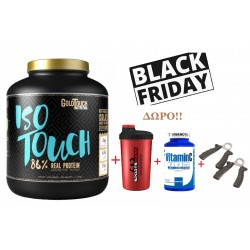 Iso Touch 86% (2Kg) - GoldTouch Nutrition +ΔΩΡΟ shaker+vitamin c 1000mg+ελατηρια καρπου
