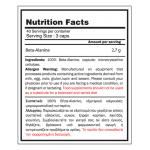 Beta Alanine (120 caps) - GoldTouch Nutrition