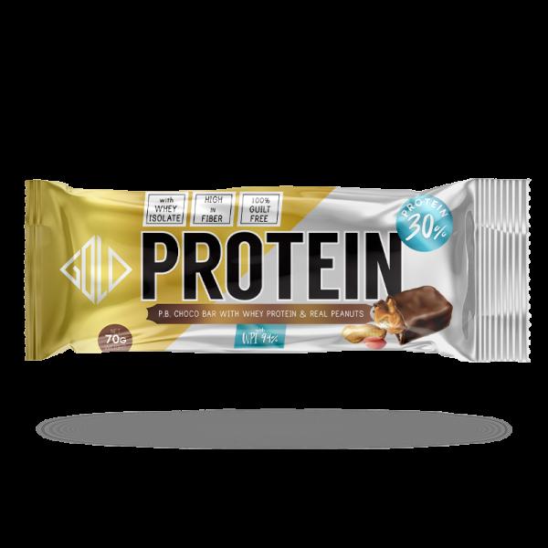 Μπάρα πρωτεΐνης με σοκολάτα (70g) - GoldTouch Nutrition
