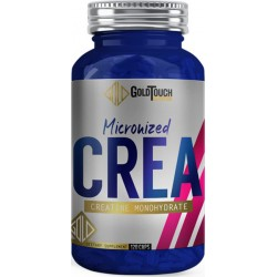 GoldTouch Nutrition Creatine Monohydrate Micronized 120 Κάψουλες