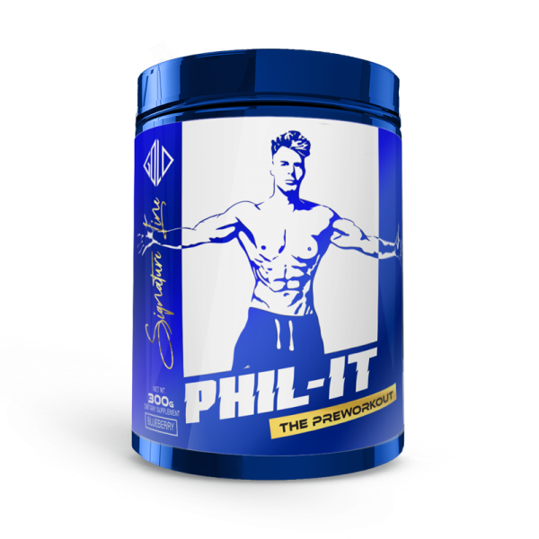 Phil It- the preworkout (300g) - GoldTouch Nutrition, signature line
