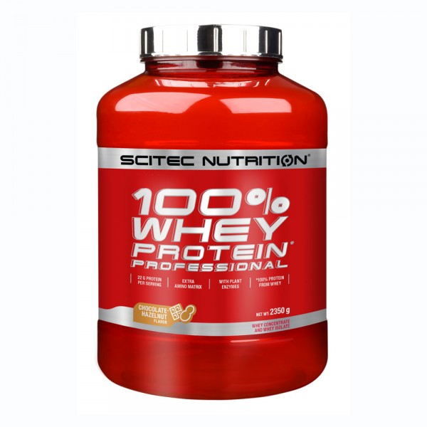 Scitec Nutrition 100% Whey Protein Professional 2350gr Σοκολάτα