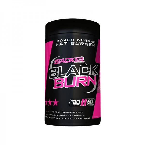 Stacker 2 Black Burn 120 Capsules