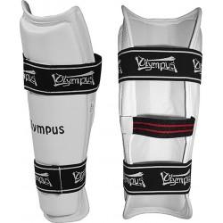 Olympus Sport Shin Guard - Reflect Pu 4050502 White